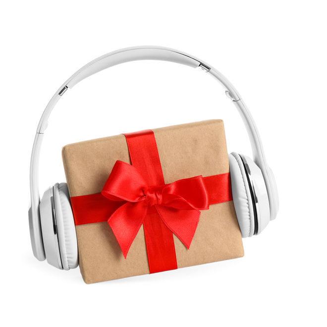 Kopfhörer auf Geschenk