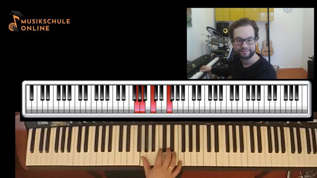 Klavier online lernen in der Videokonferenz