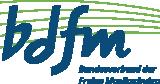 Logo der bdfm